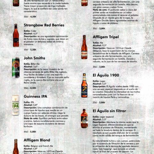 Cervezas en botella - 1
